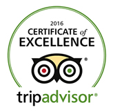 Trip Advisor Certificate of Excellance
